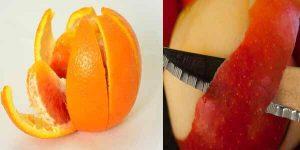 फलों के छिलके के फायदे