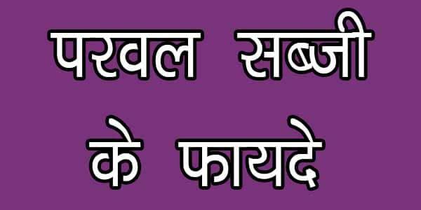 परवल सब्जी के फायदे आपकी सेहत के लिए, parwal ki sabji ke fayde apki sehat ke liye in hindi
