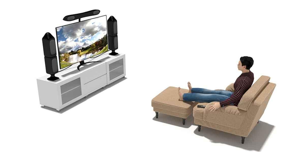 सोने से पहले टीवी न देखें