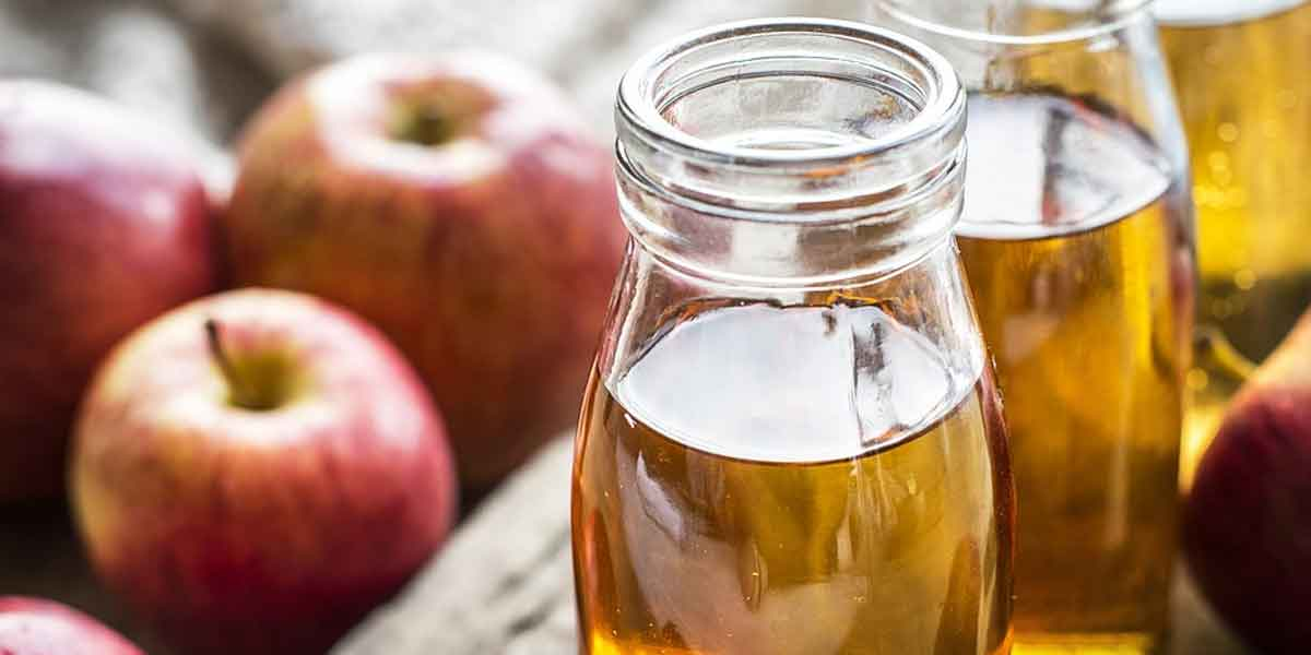 सेब का सिरका लीजिए