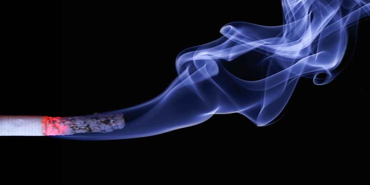 धूम्रपान करना